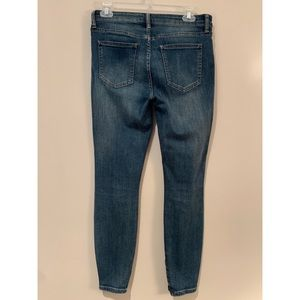 pistola Jeans - Pistola High Rise Distressed Zip Ankle Jeans